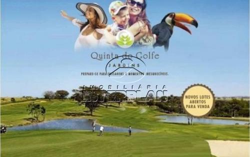 ref.: te32137, terreno condominio, rio preto - sp, cond. quinta do golfe jardins