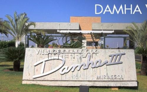 ref.: te32435, terreno condominio, mirassol - sp, cond. village damha mirassol iii