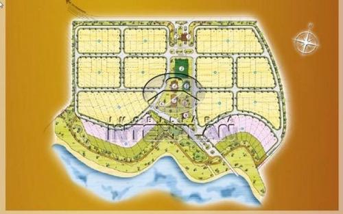 ref.: te32787, rancho, terreno condominio, fronteira - mg, cond. baias de santa monica