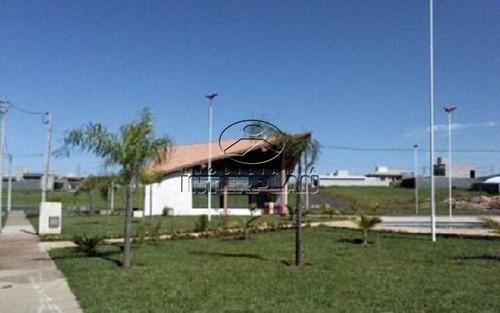 ref.: te33270, terreno condominio, mirassol - sp, cond. golden park