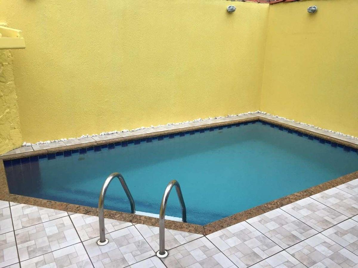 ref:321101 linda casa 3 dorms + piscina no caiçara -480 mil!