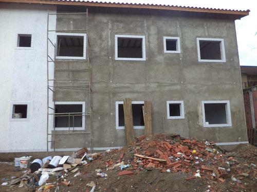 ref.413093 - casa condomínio 02dorms 52m² - tupi, pg - r$150mil - v413093
