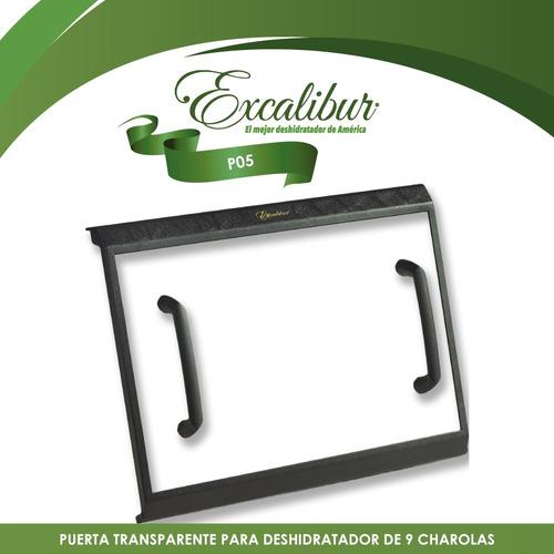 refacción puerta para deshidratador excalibur 9 charolas p05