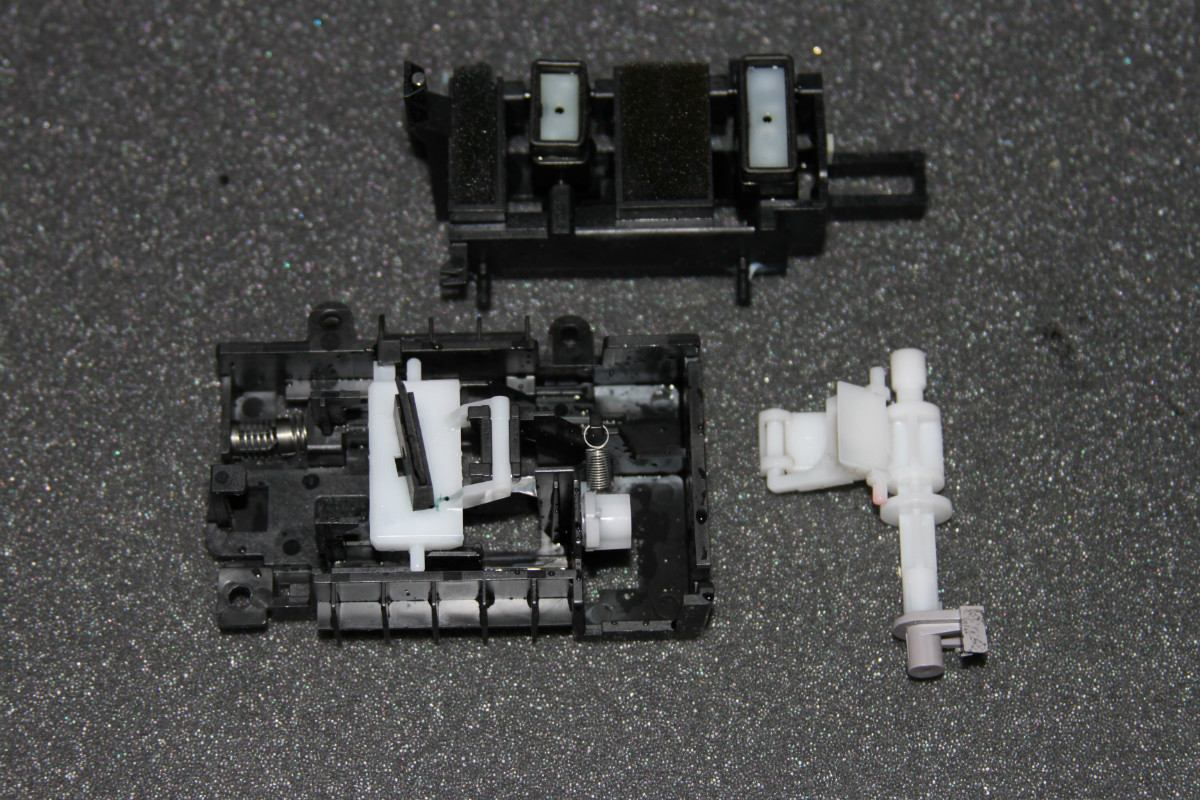 Refacciones H P Deskjet 3050 Reposa Cabezal Completo