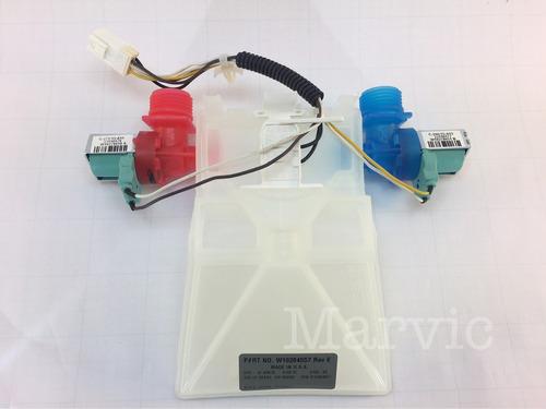 refacciones lavadora whirpool válvula electrovalvula