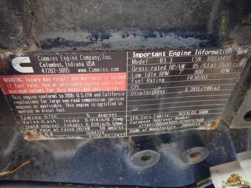 refacciones para perforadora direccional desmanteladas