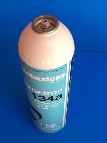 refacciones para refrigeración, gas refrigerante 134a 1kg