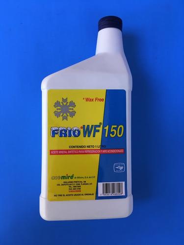 refacciones refrigeración, aceite frío 150 compresor r-22