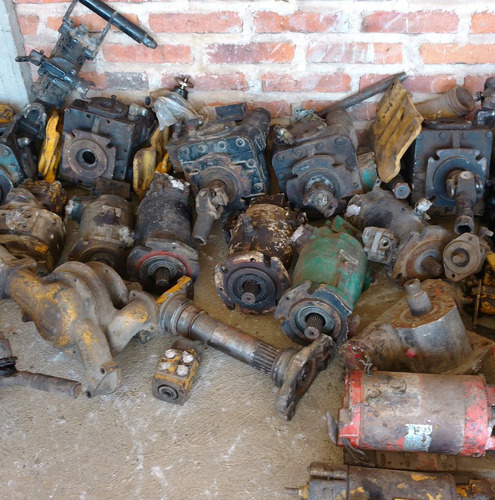 refacciones usadas  para maquinaria pesada