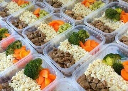 refeição fitness congelada - praticidade