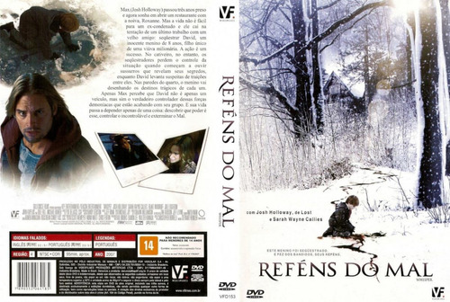 reféns do mal dvd original lacrado