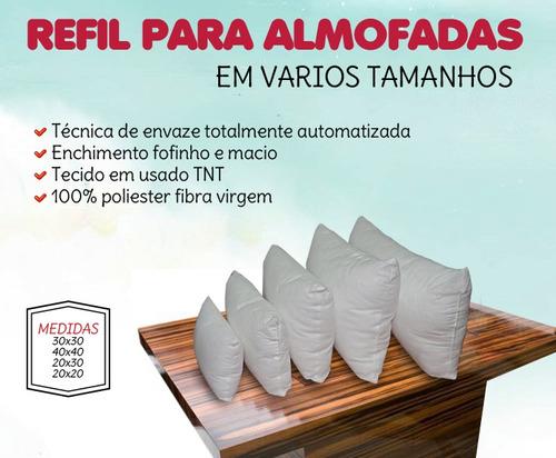 refil almofadas - 20 unidades