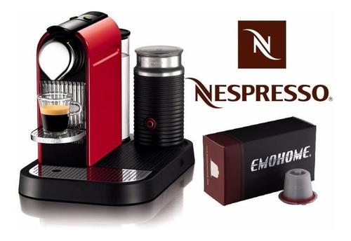 refil capsula reutilizável das cafeteiras nespresso filtro