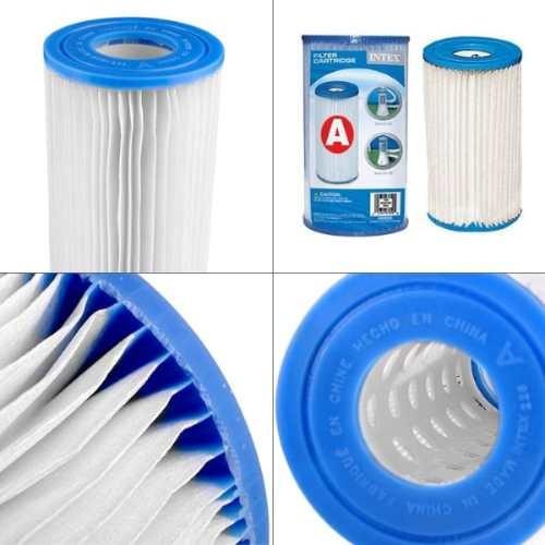 refil cartuchos a filtro intex bomba filtrante 2006 3785 l/h
