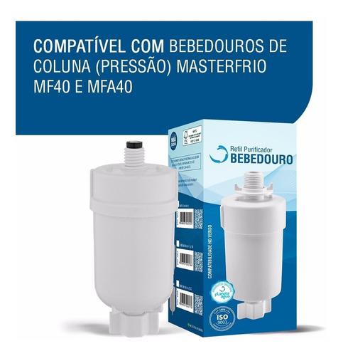 refil compatível com bebedouros masterfrio mf40 e mfa40