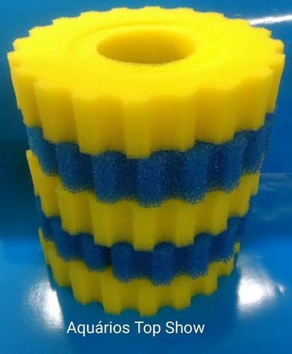 refil de 5 espumas do filtro sarlo eco pond 10k