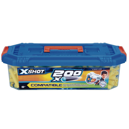 refil de dardos - x-shot excel series - 200 dardos - candide