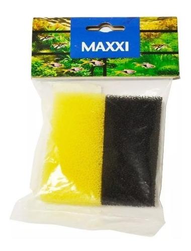 refil de esponja para filtro hang on maxxi power hf-60 sp aquários peça de reposição