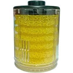 refil esponja com copo sp-1-2-3 amarelo boyu