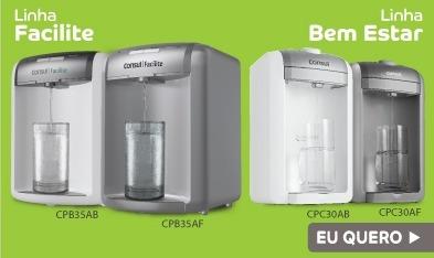 050bd09fe Refil Filtro Purificador Água Consul Bem Estar Com Bateria - R  33 ...
