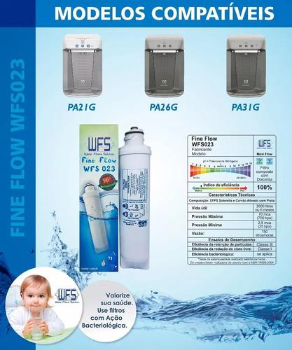 refil filtro purificador electrolux pa21g, pa26g, pa31g