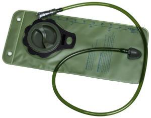 refil mochila de hidratação hidrabag verde 2 litros guepardo