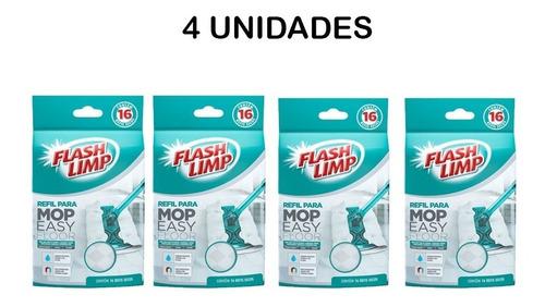 refil mop- refil seco para mop easy floor 64 filtros