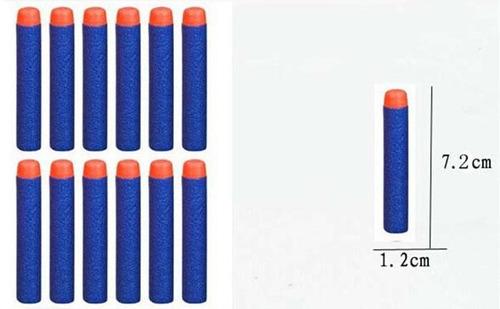 refil munição dardos espuma arminha brinquedo 100 unidades