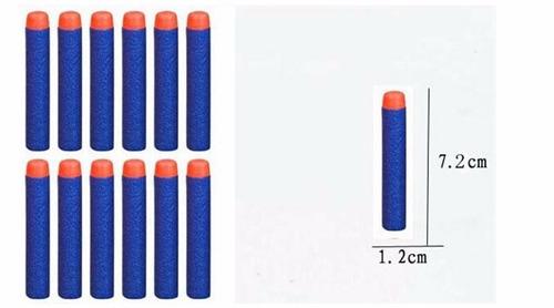 refil munição dardos nerf hasbro cores kit 100 unidades bala