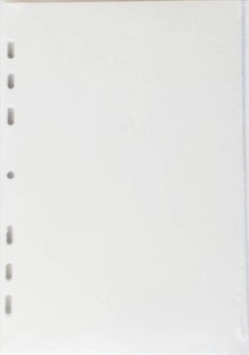 refil planner org  6 argolas - em branco - a5 - s1