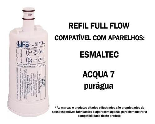 refil purificador esmaltec bebedouro acqua7 purágua