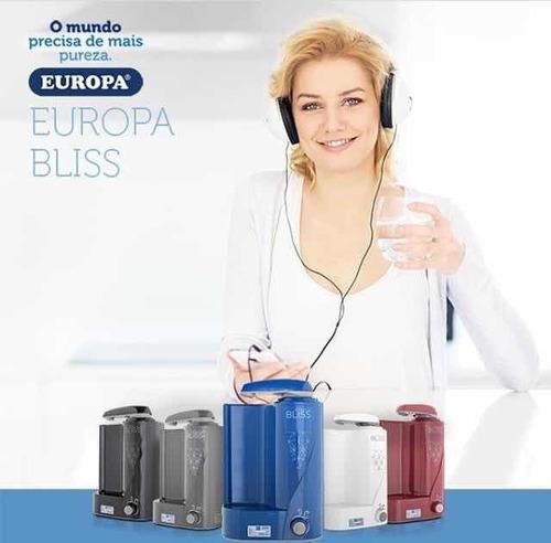 refil purificador europa bliss - filtro original c/ n fiscal