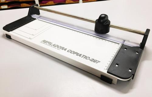 refiladora de papel 297mm copiatic menno