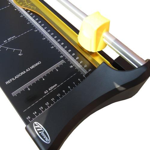 refiladora de papel a3 compacta menno frete grátis