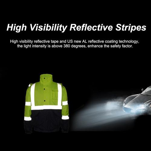 reflectante alta visibilidad capa de algodnsfvest