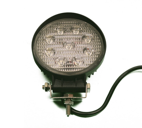 reflector 9 led 4x4 off-road 27w cuatri