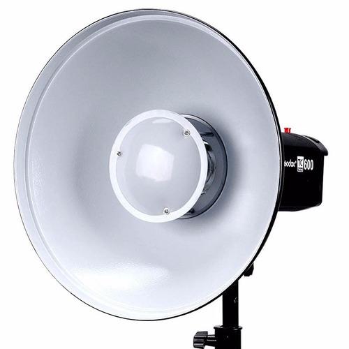 reflector beauty dish godox blanco 42cms