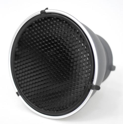 reflector cacerola difusor y panal flash p/ visico bowens
