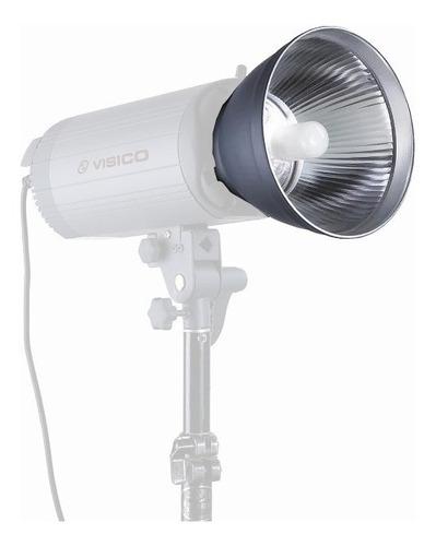 reflector cacerola flash visico montura bowens 18cm