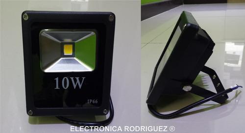 reflector de led 10 watts ultradelgado ahorrador 1100 lumens