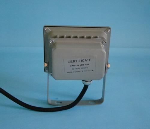 reflector de leds 10w  ip 68 chip epistar