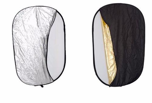 reflector flexible 1.75 x 1.2 mts 5en1para canon t3i t5i 70d