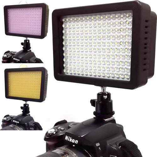 reflector lampara 160 leds,con bateria y cargador envío free