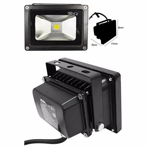 Reflector lampara luz led exterior 10w luminario 470 - Luz led exterior ...
