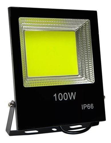 reflector led 100w 220v ip65 alta potencia  -canchas-estacionamiento