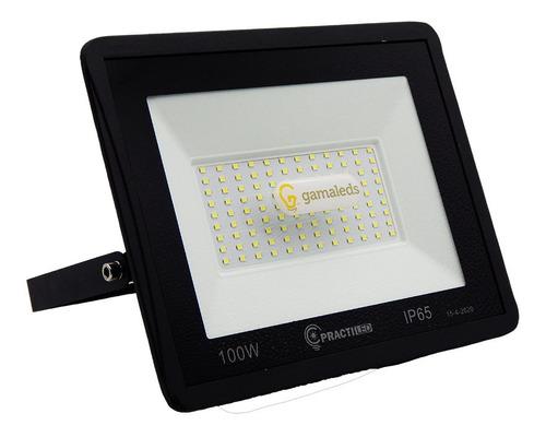 reflector led 100w alta potencia exterior canchas