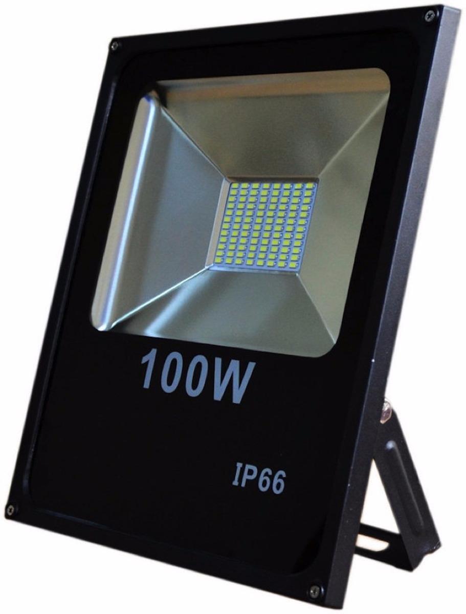 Reflector Led 100w Doble Blanco Exterior 120 9000lm Clase A Bs En Mercado Libre
