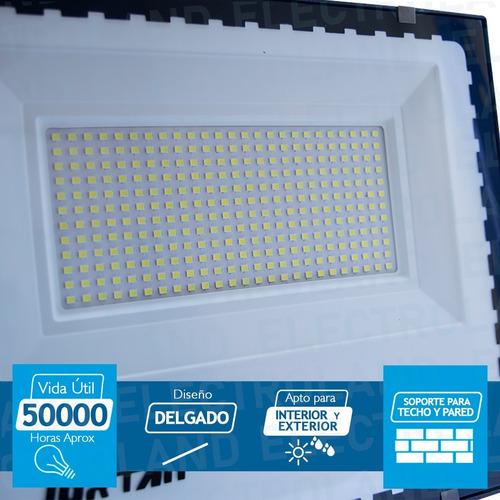 reflector led 100w nueva generacion canchas futbol tenis