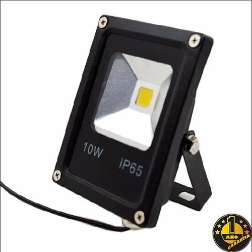 reflector led 10w 220v alta potencia ip65 aluminio exterior