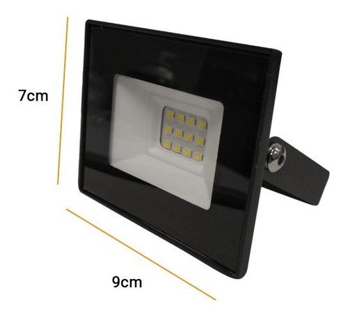 reflector led 10w 220v exterior alta potencia ip65 frio